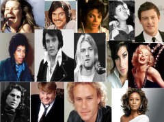 Celebrities that have committed suicide or O.D.ed