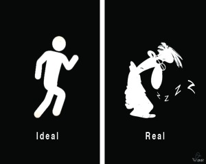 Real-ideal