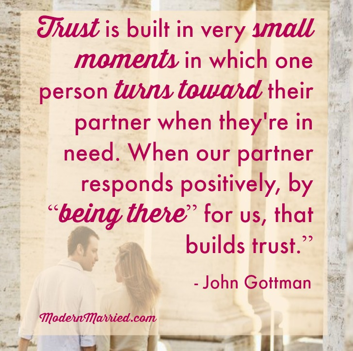 how to build up trust in a relationship